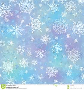 Christmas vector snowflake wreath on blur blue background or backdrop