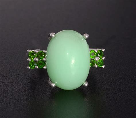 green opal gemstone mint green opal jewelry information value