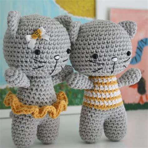 small amigurumi cat  pattern crochet  children