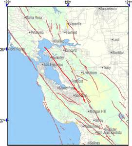 hayward fault map the hayward fault in hayward fault map