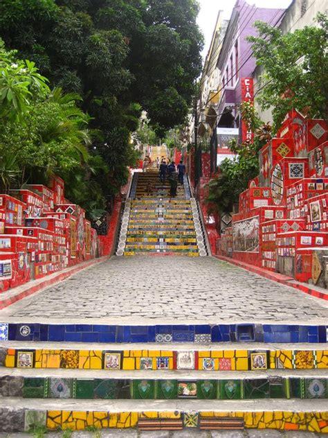 de janeiro turisti per caso scalinata selaron de janeiro viaggi vacanze e