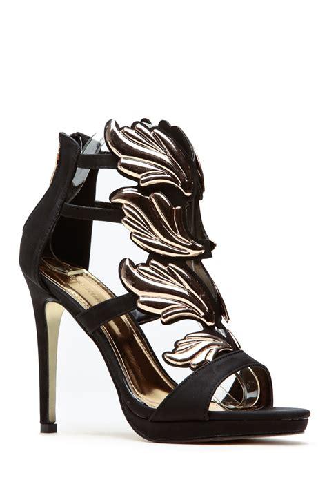 Yh Heels 2 nubuck wings black heels cicihot heel shoes