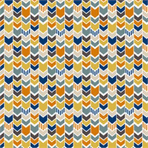 Navi Stripe Orange navy and yellow print fabric wallpaper gift wrap