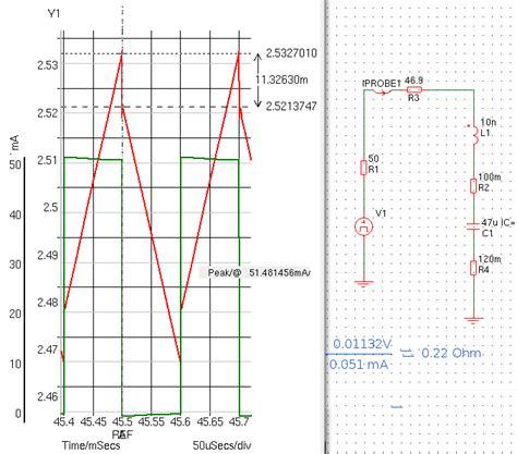 capacitor esr simulation all about esr measurement pa4tim s opvangtehuis voor buizenbakken