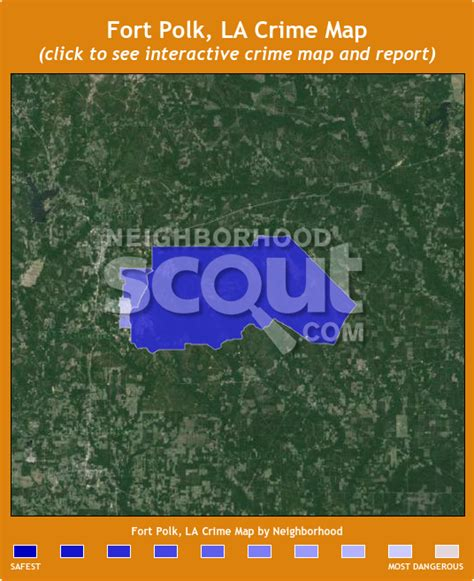 fort polk louisiana map fort polk crime rates and statistics neighborhoodscout