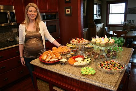 Baby Shower With Baby Food by Fancy Fancy Food At A Baby Shower Minnesota Prairie Roots