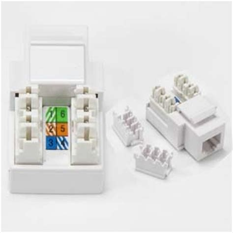 90303wt rj11 12 keystone white color directcable4less
