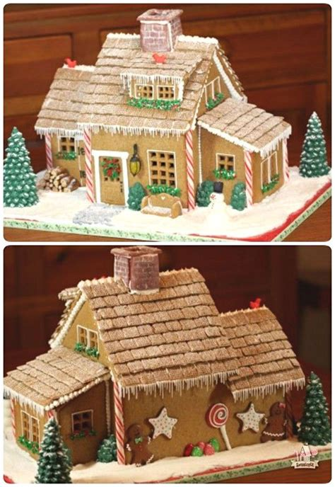 easy gingerbread house designs simple inspiring gingerbread house ideas 5 snappy pixels office christmas