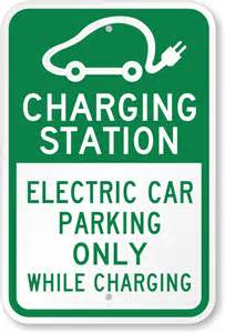 Electric Vehicle Charging Stations Signs Charging Station Electric Car Parking Sign Sku K 0338