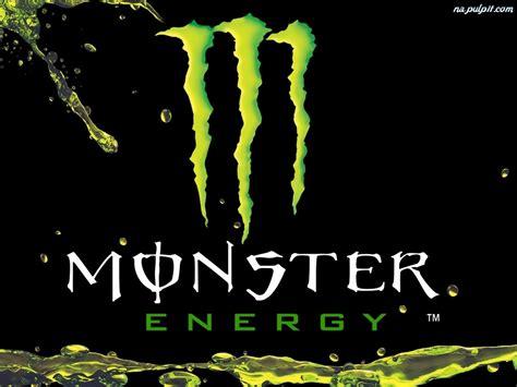 logo monster energy na pulpit