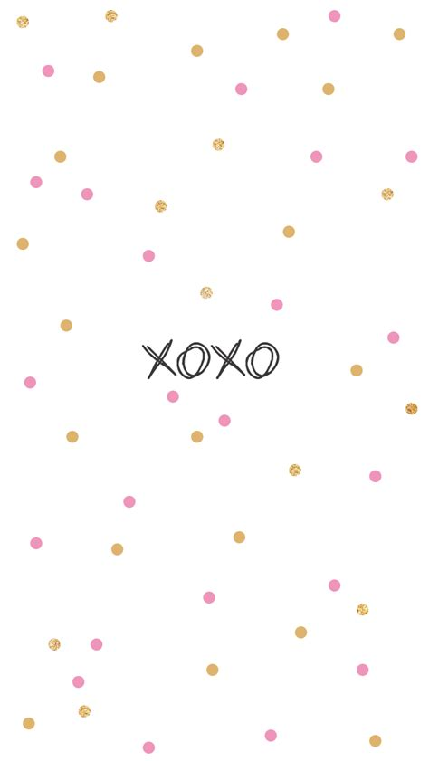 cute xoxo wallpaper cute friday quotes with wallpapers quotesgram