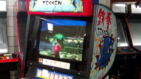 Tekken 3 Arcade Cabinet by Tekken Arcade Cabinet Tekken 3 Pcb