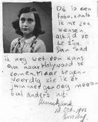 encyclopedia of world biography anne frank anne frank