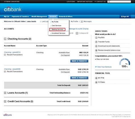 Bank Letter For Direct Deposit Citibank Citibank Banking Banking Citibank Singapore