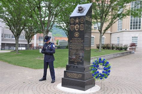 Officer Memorial by Pikeville Officer Memorial Pikeville