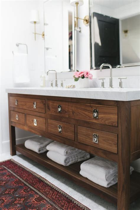 White Wood Bathroom Vanity by Wood Bathroom Vanity House Furniture Ideas