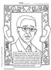 famous african american coloring pages az coloring pages