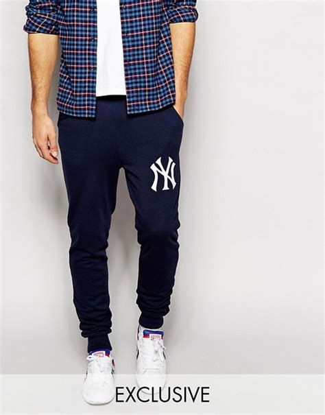 exclusive skiny majestic majestic new york yankees joggers