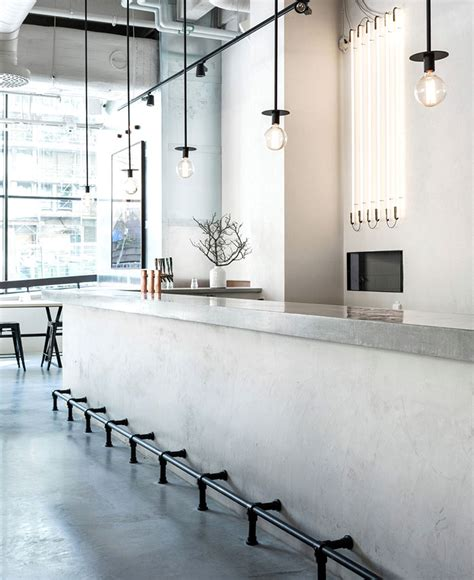 Scandinavian Inspired Minimalist Restaurant Decor   InteriorZine