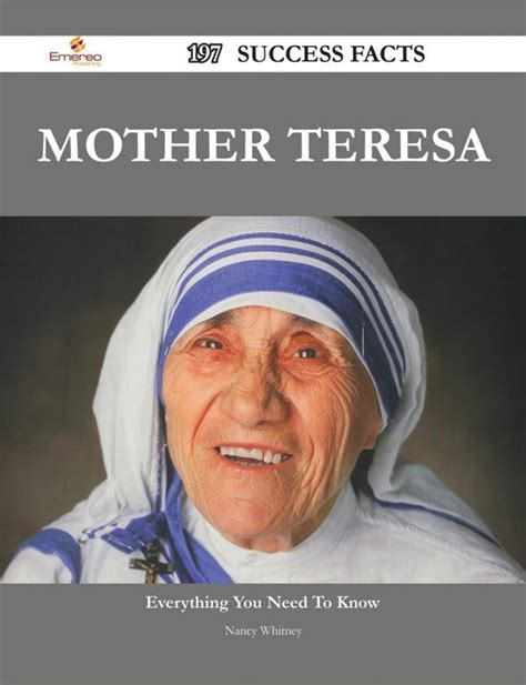 mother teresa biography epub bol com mother teresa 197 success facts everything you