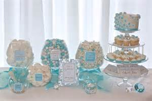 Owl Bathroom Accessories by 33 Blue Theme Party Candy Table Ideas