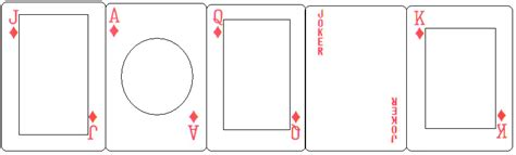 Face Cards Template By Berserktears On Deviantart Deck Of Cards Template