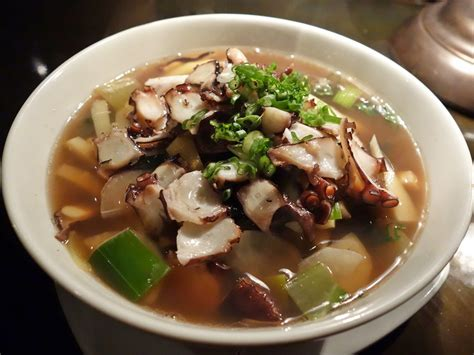 Ramen Octopus asian eats octopus soup late ramen and more at brimmer heeltap in seattle gastrolust