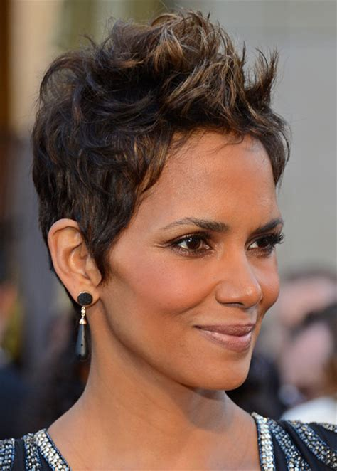holly berry hairstyles in 1980 more pics of halle berry nude lipstick 21 of 40 halle