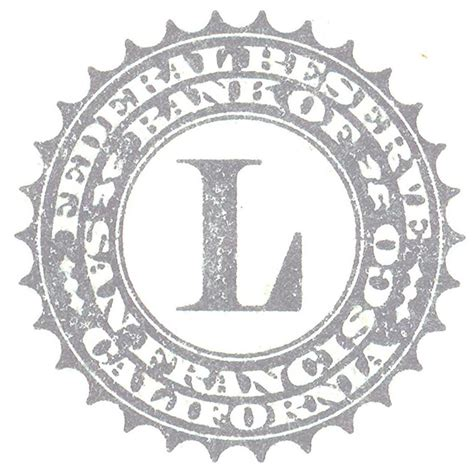Seal L by File United States One Dollar Bill Fed Seal L Jpg