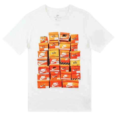 T Shirt Shoes Cloth nike vintage shoe box t shirt white mens clothing from attic clothing uk