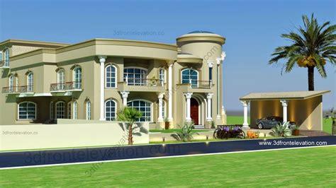 villa home plans modern arabic villa design 2015 3d front elevation d beautiful and modern
