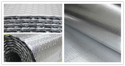 Insulasi Aluminium Foil Primary Woven Foil wholesale aluminum reflective foil wrap heat insulation custom width roll installation