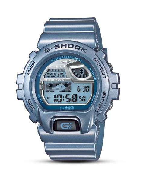 Smartwatch G Shock g shock bluetooth smart 53mm in blue for lyst