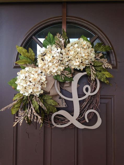 Initial Front Door Wreaths 25 Best Ideas About Front Door Letters On Monogram Door Decor Letter Door Wreaths