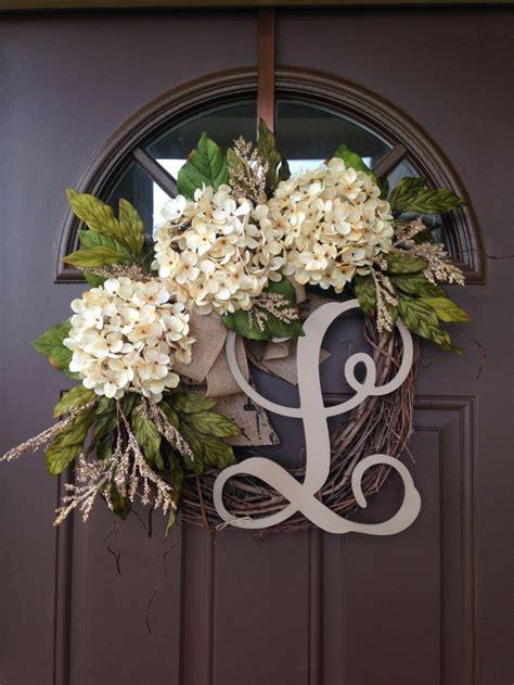 Monogrammed Front Door Wreaths 25 Best Ideas About Front Door Letters On Monogram Door Decor Letter Door Wreaths