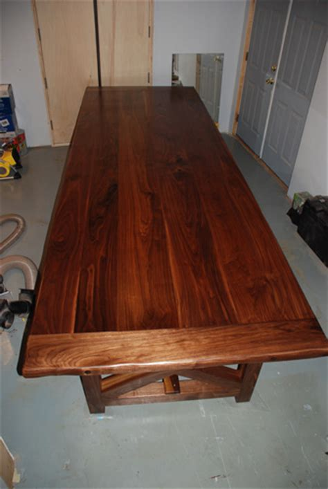 12 ft walnut table