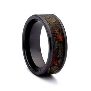 camo wedding rings black titanium wedding bands by 1 camo