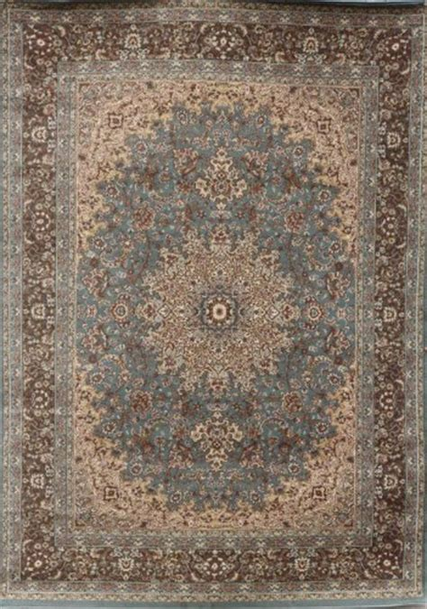 new city rugs feraghan new city traditional isfahan wool area rug 8 x 10 light blue silver buy
