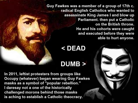 Guy Fawkes Mask Meme - guy fawkes and the stupid people who wear his face