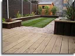 Lay Decking On Patio by Patio Patio Decking Home Interior Design