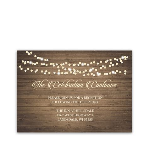 Gift Card Wedding - rustic fall wedding coordinating reception cards