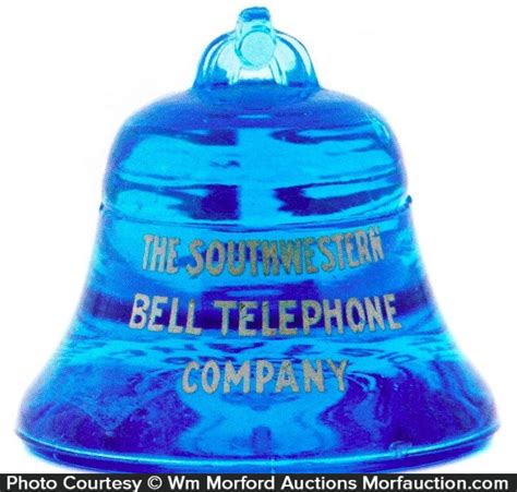 Bell Telephone Lookup Antique Advertising Southwestern Bell Telephone Paperweight Antique Advertising