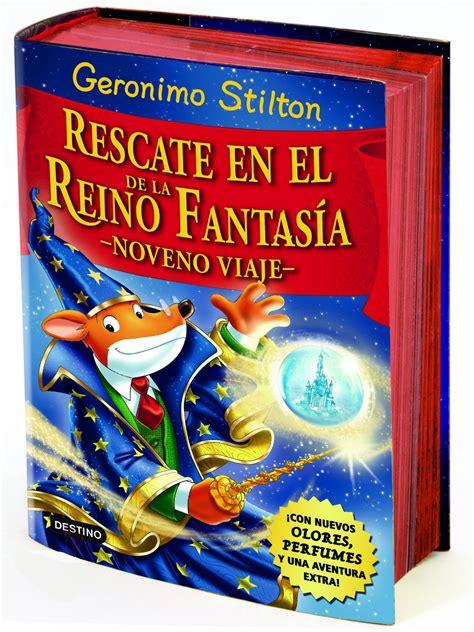 libro rescate en el reino geronimo stilton rescate en el reino de la fantasa noveno viaje noveno viaje vv aa libro en