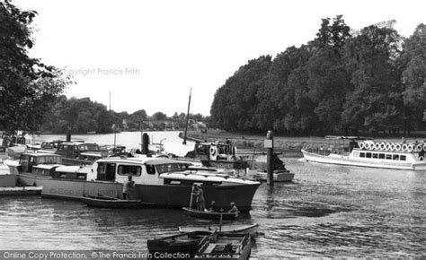 thames ditton river boats thames ditton the river c 1955 francis frith