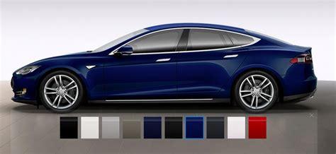 Tesla Colors Tesla Motors Has Finally Introduced The All Wheel Drive