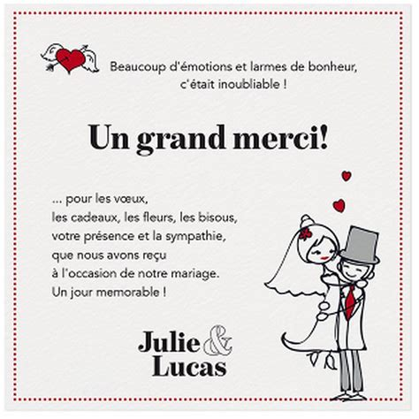 Lettre De Remerciement Mariage Original Exemple De Remerciement Humoristique