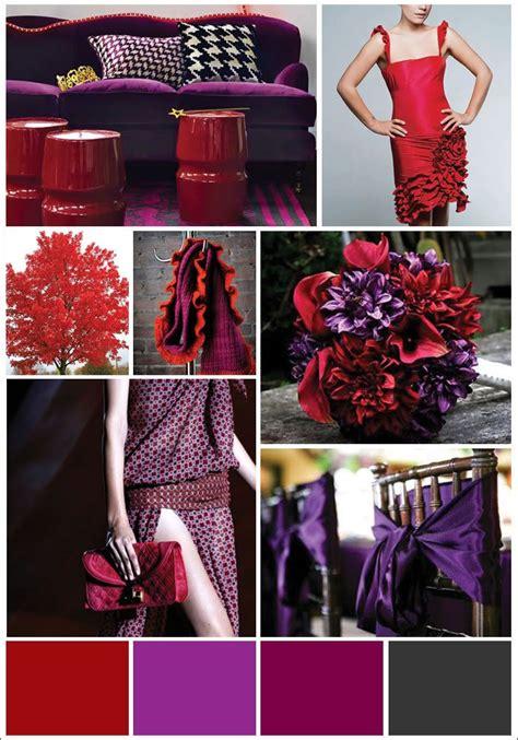 color pallet   wedding red purple wedding