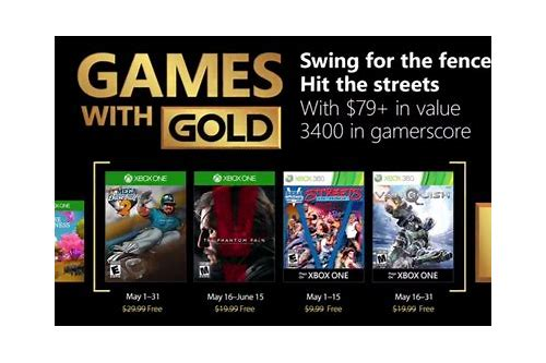 deals with gold may 2018 xbox one