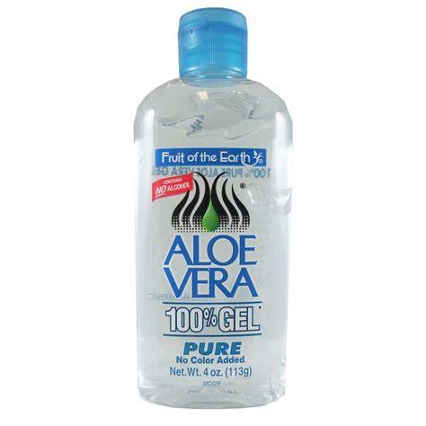 fruit of the earth aloe vera gel fruit of the earth aloe vera 100 gel 113g