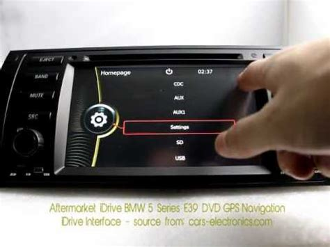bmw 5 series idrive not working aftermarket idrive bmw e39 5 series dvd player with gps